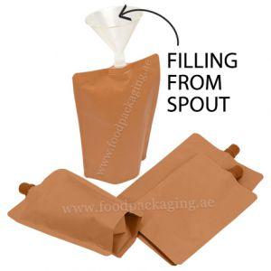 10mm Spout Pouches (Center Spout / Filling From Spout)